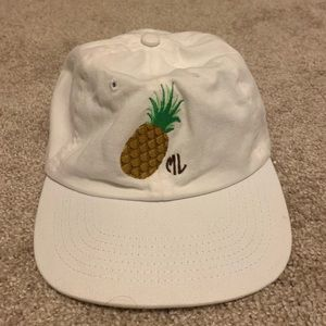 Marley Lilly pineapple hat